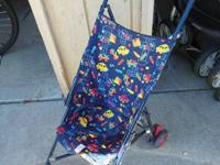 Cosco Umbrella Stroller : $5.00  Safari Kids Shower