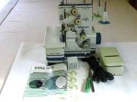 Very good condition Baby Lock model BL4-605 serger.