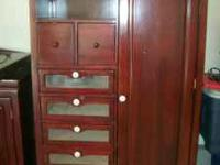 Cherry Wood Nursery Furniture set for sale...Includes