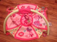 Great for tummy time or kicking up a storm.  My