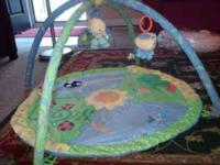 "Baby play mat, ""boppy"" to help your baby sit up or rest"