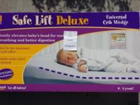 Safe Lift Universal Crib Wedge gently angle elevates