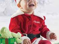 Baby Santa Suit (Authentic Baby) size 3-6M brand new