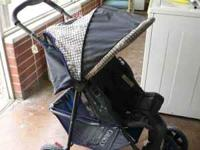 We are selling this nice used baby stroller. It is
