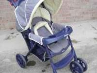Graco stroller with large basket . Clean, good