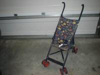 FOLD UP 8 WHEEL STROLLER, IN GOOD CONDITION.I WILL