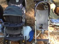 Double and single baby stroller. Great condition.  //