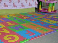 Foam Floor Alphabet Puzzle Mat(36 piece):$22  Disney