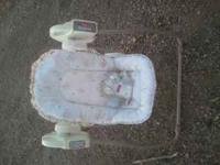 I have a baby swing it works the only thing it need to