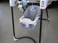 Great working baby swing. Has several speed settings,