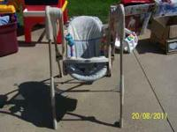 Graco Baby swing battery operated Whisper Quiet $40.00