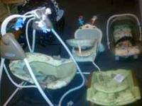 Baby swing is an graco winnie the pooh 6 speed plays