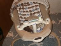 Selling a Graco Sweet peace swing  ($90), A mini crib