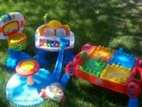 Different Toys good condition, son has outgrown them.