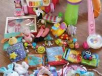 Tons of baby items, toys walkers, explore and learn