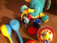 I have several baby toys that I am selling all together