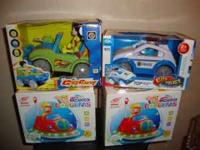 I have several baby toys for sale the small cars go for