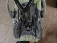 Selling off a fairly new Baby Trend car seat with