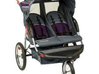 I have a Baby trend double jogging stroller for