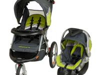 The Baby Trend Expedition ELX Travel System Stroller is