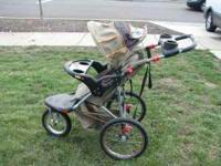 Gently used jogging stroller. In great condition, just