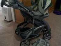 For sale: Baby Trend Galaxy Travel System with 1 base.