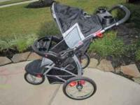 Jogging stroller for sale. Does fold down for easy