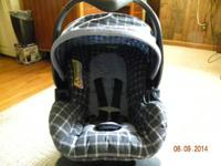 "BABY TREND LATCH-LOC INFANT CAR SEAT UP TO 20 LB 26""OR"