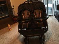 I am selling this baby trend double stroller. We have