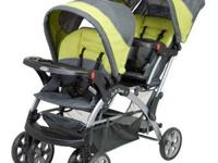 I have a Sit and Stand Stroller by Baby Trend. Older