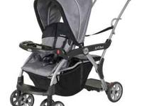 The Baby Trend Sit-N-Stand DX Stroller - younger child