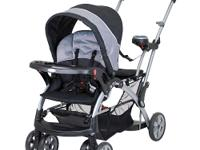 The Baby Trend Sit-N-Stand Ultra Stroller-Granite will