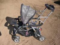 Baby-trend Sit-n-stand two child stroller $100