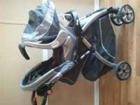 Baby Trend Stroller, Carseat and Base. Excellent