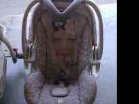 Baby Trend Car seat and stroller set, like new asking