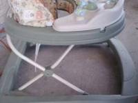 I have a very nice baby walker, the baby is walking now