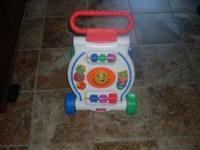 Baby walker and toy for infant. Please contact via