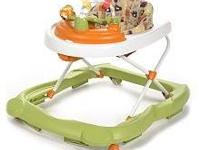 Cosco beep beep baby walker in great condition, my son