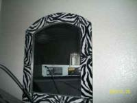 -ZEBRA FUZZY MIRROR $15 -FUR REAL TALKING MONKEY $15'