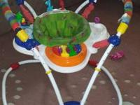 I have a Baby Einstein floor bouncer, walker, and boppy