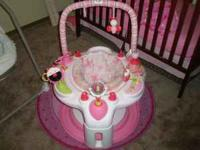 "I have a PINK ""BRIGHT STARS"" baby Entertainer, teaches"