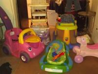 I have tons of baby items I'm trying to sell. I would