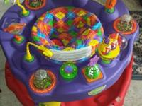 I have a fisher price baby swing, breastfeeding boppy,