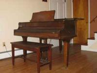 "I have a Melville Clark baby Grand piano, 4' 5"", for"