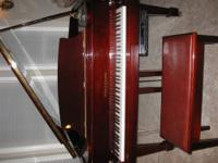 FOR SALE: KOHLER & CAMPBELL BABY GRAND (5?2?) CIRCA