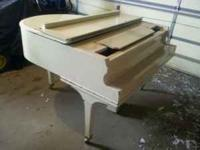 Baby Grand Piano, unknown manufacturer and age. Fair