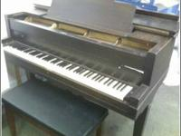 Cunningham Piano Co. Needs tune up Great condition