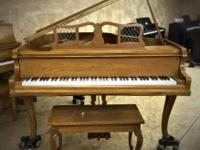 Offered by Dan the Piano Man of Spokane Valley. Piano