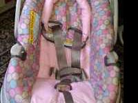 I have a girls infant carseat, it was used for nine