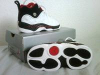 I have a pair of 1998 Baby Jordan Team II size 7C shoes